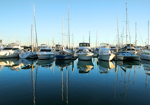 Nautical tourism is well developed, thanks to our nice marina.